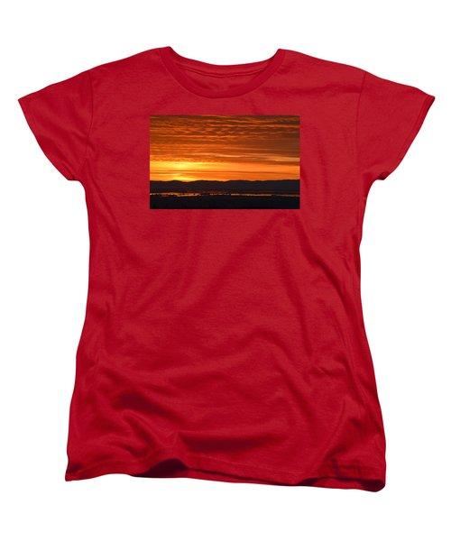 Women's T-Shirt (Standard Cut) featuring the photograph The Textured Sky by AJ Schibig