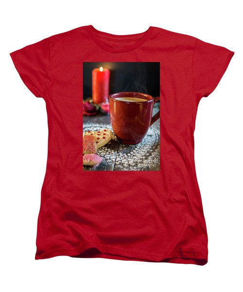 Women's T-Shirt (Standard Cut) featuring the photograph The Warmth Of Our Love by Deborah Klubertanz