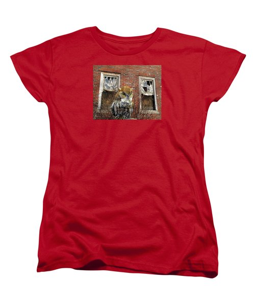 Women's T-Shirt (Standard Cut) featuring the photograph The Watch by Lynda Lehmann