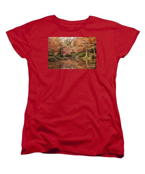 The White Ladder Women's T-Shirt (Standard Cut) by Iris Greenwell