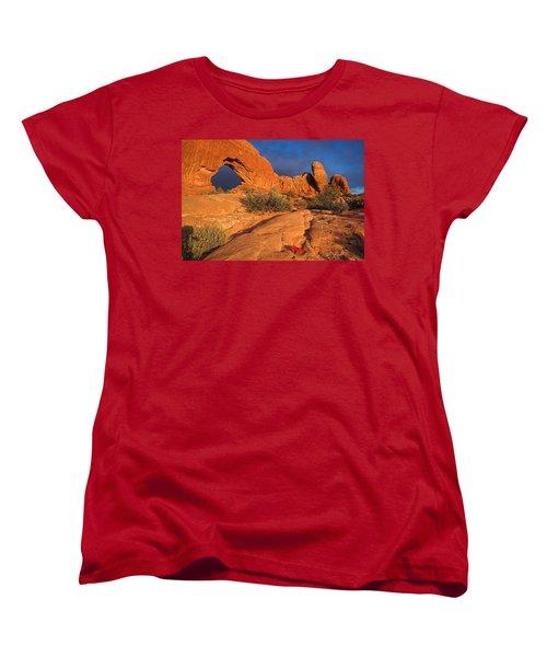 Women's T-Shirt (Standard Cut) featuring the photograph The Window by Steve Stuller