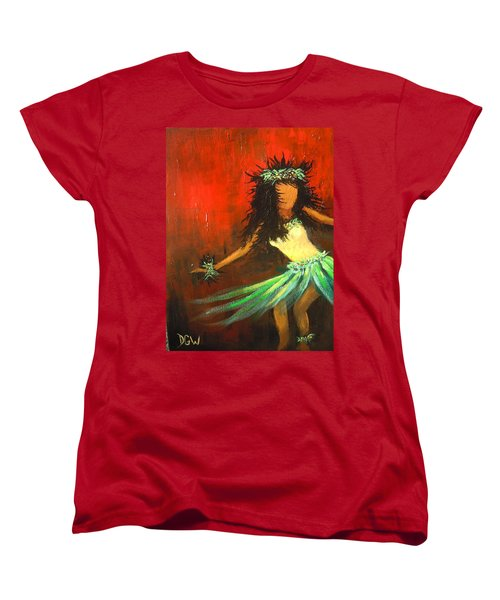 The Young Dancer Women's T-Shirt (Standard Cut) by Dan Whittemore