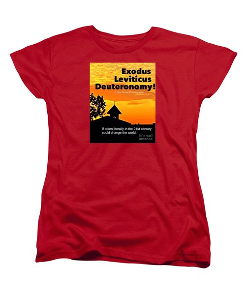 Women's T-Shirt (Standard Cut) featuring the photograph Thechurch Wsy by Joe Finney