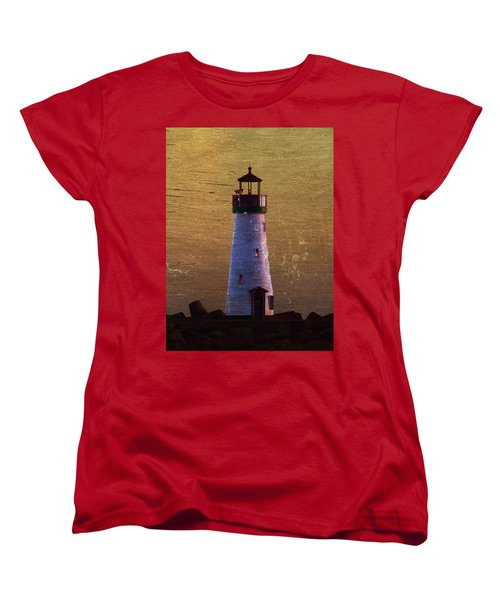 There Is A Lighthouse Women's T-Shirt (Standard Cut) by B Wayne Mullins