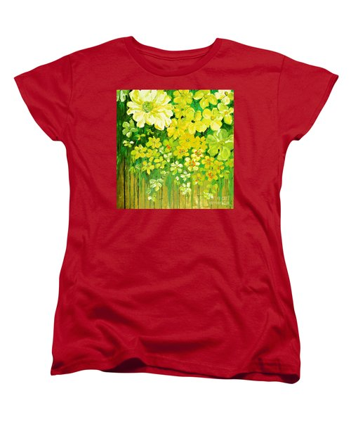 This Summer Fields Of Flowers Women's T-Shirt (Standard Cut)