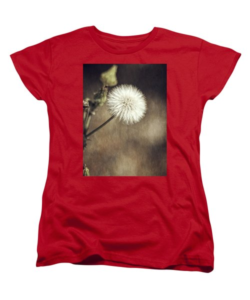 Women's T-Shirt (Standard Cut) featuring the photograph Thistle by Carolyn Marshall