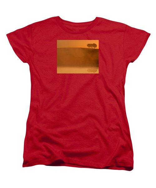 Three Trees  Women's T-Shirt (Standard Cut) by Don Spenner