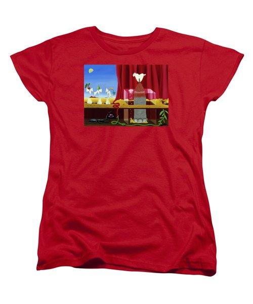 Three Twisted Dancers Women's T-Shirt (Standard Cut)