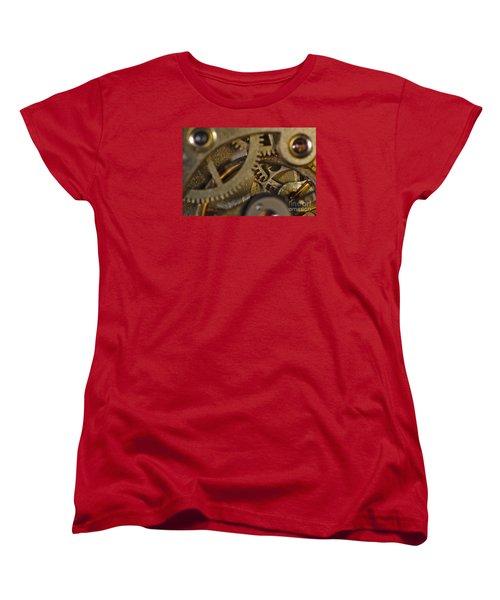 Tic Tac Wheels Women's T-Shirt (Standard Cut) by Angelo DeVal