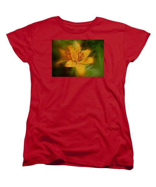 Women's T-Shirt (Standard Cut) featuring the photograph Tiger Lily No. 1 by Richard Cummings