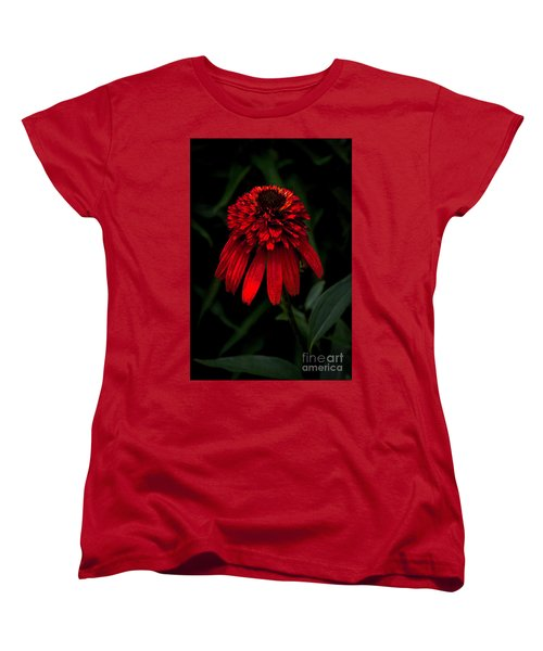 Women's T-Shirt (Standard Cut) featuring the photograph Tiki Torch by Judy Wolinsky