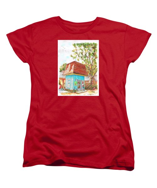 Tiny Tree Boutique In Los Olivos, California Women's T-Shirt (Standard Cut) by Carlos G Groppa