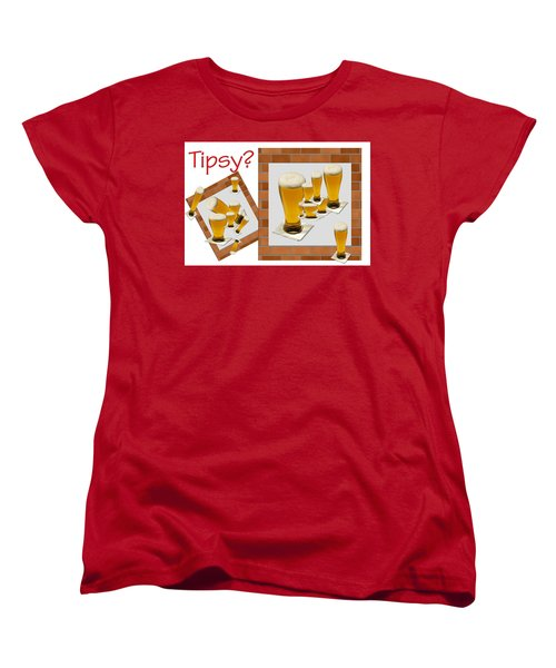 Tipsy ? Women's T-Shirt (Standard Cut) by Tina M Wenger