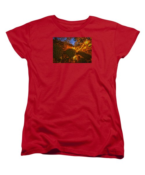 Tlaquepaque Evening Women's T-Shirt (Standard Cut) by Laura Pratt