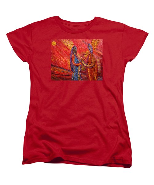 To Be My Second Self... Women's T-Shirt (Standard Cut) by Vadim Levin