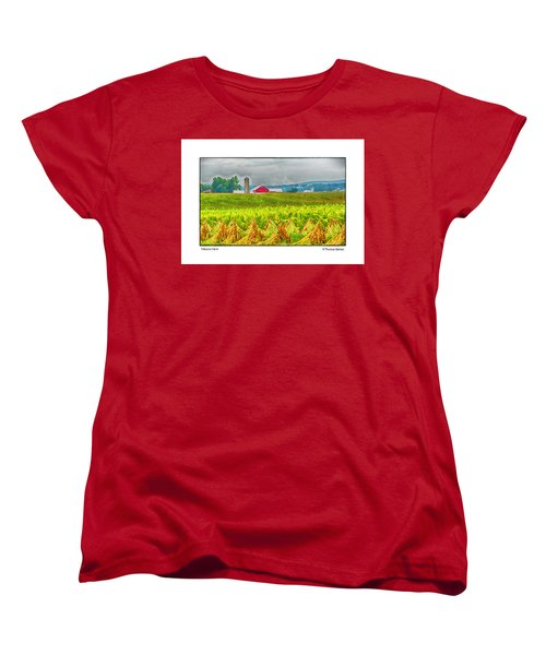 Tobacco Farm Women's T-Shirt (Standard Cut) by R Thomas Berner