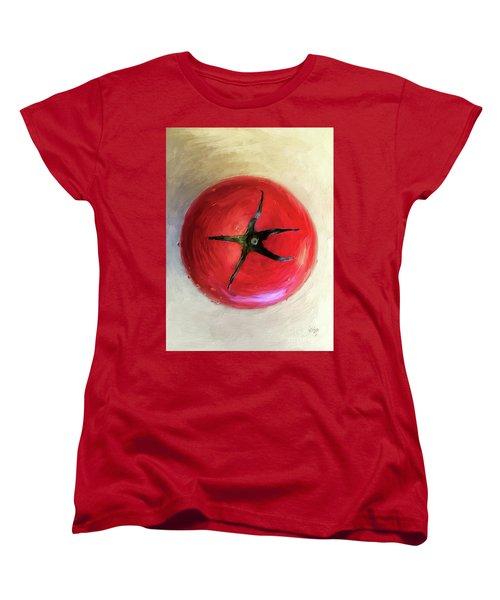 Tomato Women's T-Shirt (Standard Cut) by Lois Bryan