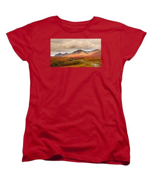 Tombstone Territorial Park Yukon Women's T-Shirt (Standard Cut) by Rod Jellison