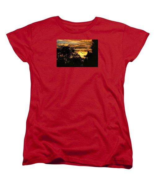 Women's T-Shirt (Standard Cut) featuring the photograph Tomorrow Land by Joan Bertucci