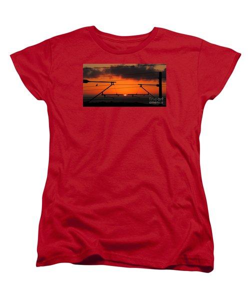 Women's T-Shirt (Standard Cut) featuring the photograph Top Notch Spot by Linda Hollis