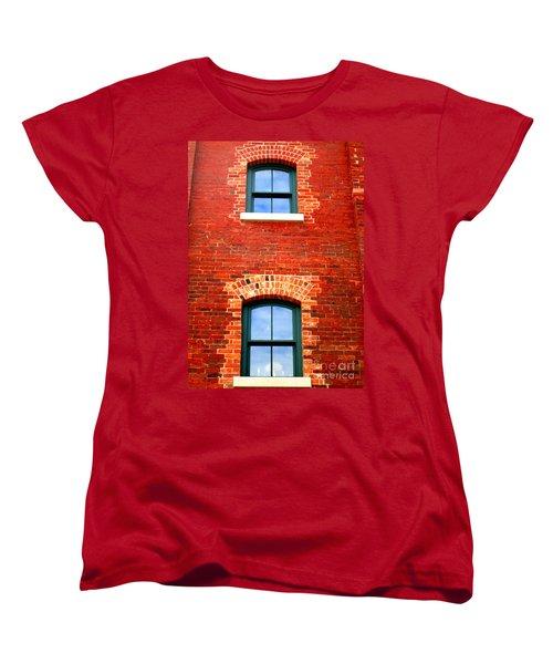 Toronto Windows Women's T-Shirt (Standard Cut) by Randall Weidner