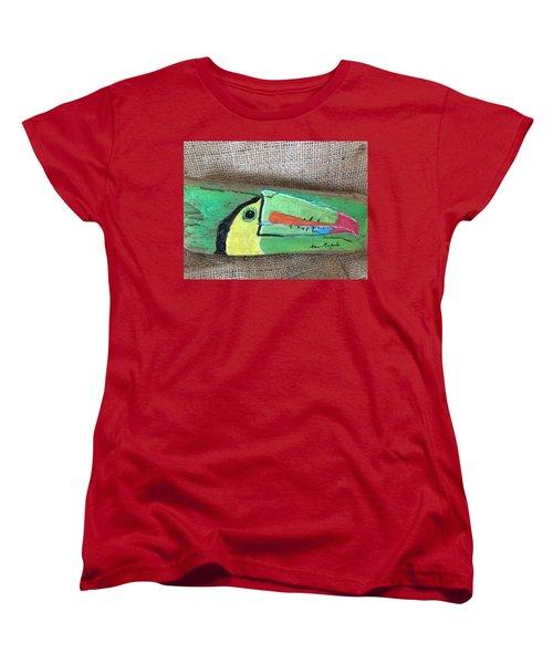 Toucan Women's T-Shirt (Standard Cut) by Ann Michelle Swadener