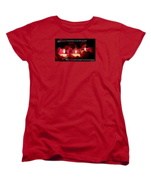 Women's T-Shirt (Standard Cut) featuring the photograph Touch My Soul by David Norman