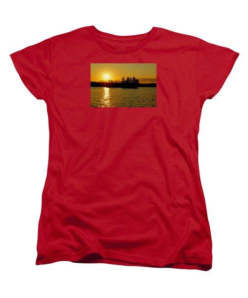 Women's T-Shirt (Standard Cut) featuring the photograph Towards Infinity by Lynda Lehmann