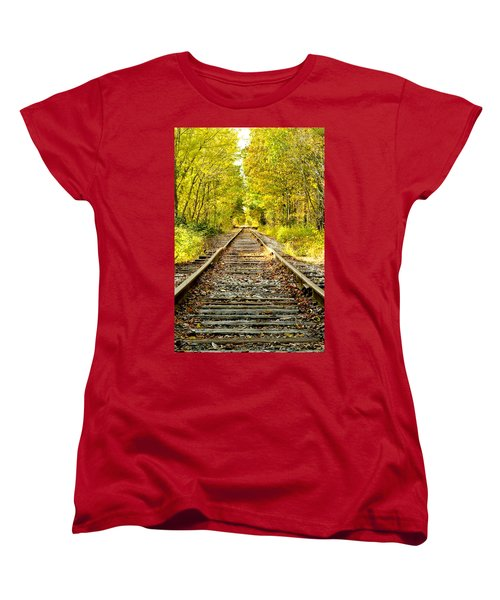 Track To Nowhere Women's T-Shirt (Standard Cut)
