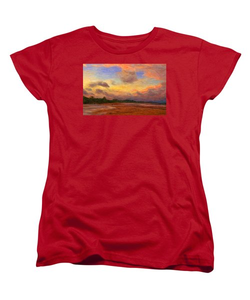 Trancoso 1 Women's T-Shirt (Standard Cut) by Caito Junqueira