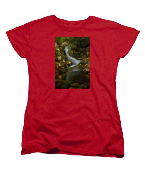Women's T-Shirt (Standard Cut) featuring the photograph Tranquility by Ellen Heaverlo