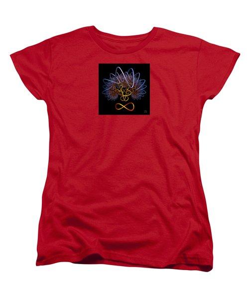 Transinfinity - A Fractal Artifact Women's T-Shirt (Standard Cut) by Manny Lorenzo