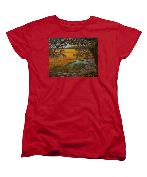Transition  Women's T-Shirt (Standard Cut) by Dorothy Allston Rogers