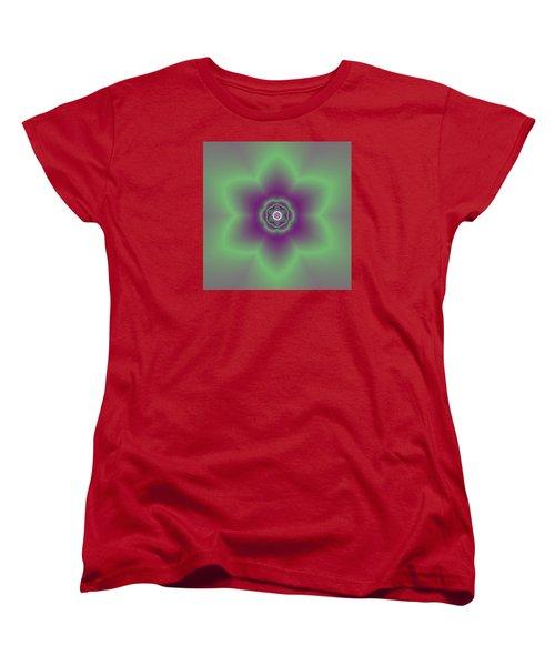 Transition Flower 6 Beats 2 Women's T-Shirt (Standard Cut) by Robert Thalmeier