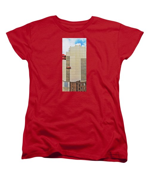 Transition From Old To New In New York Women's T-Shirt (Standard Cut) by Gary Slawsky