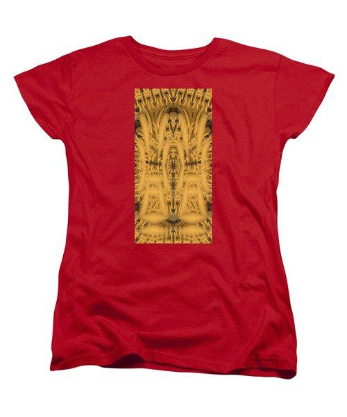 Shrine Women's T-Shirt (Standard Cut) by Ron Bissett
