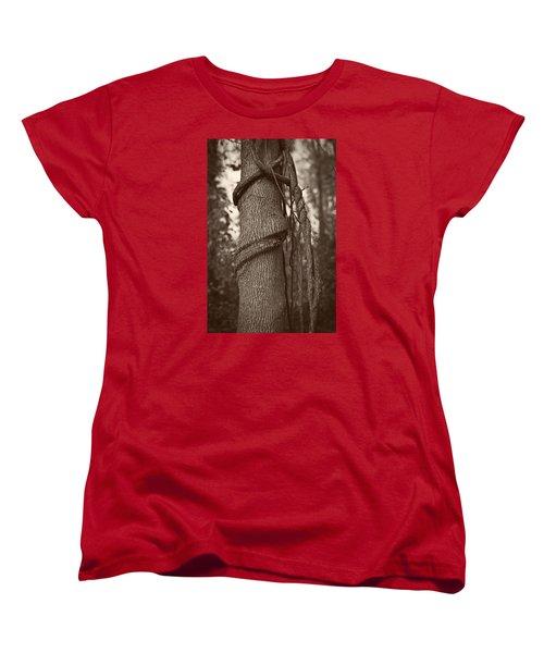 Tree 5 Women's T-Shirt (Standard Cut) by Simone Ochrym