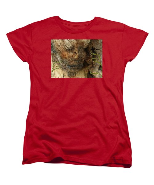 Women's T-Shirt (Standard Cut) featuring the photograph Tree Memories # 22 by Ed Hall