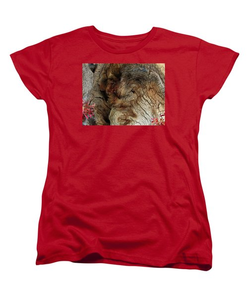 Women's T-Shirt (Standard Cut) featuring the photograph Tree Memories # 34 by Ed Hall
