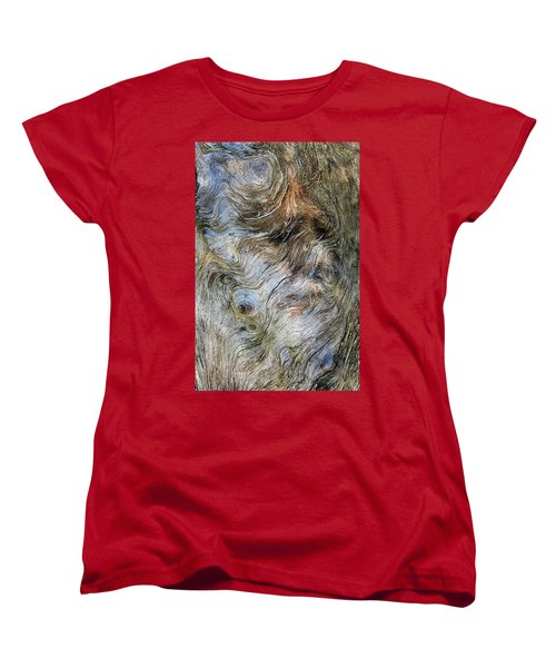 Women's T-Shirt (Standard Cut) featuring the photograph Tree Memories # 40 by Ed Hall