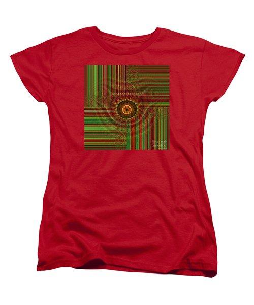 Tribal Drape Women's T-Shirt (Standard Cut) by Thibault Toussaint