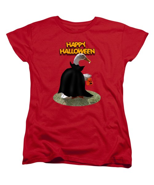 Trick Or Treat For Count Duckula Women's T-Shirt (Standard Cut) by Gravityx9  Designs