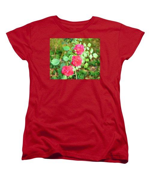 Triplets Women's T-Shirt (Standard Cut) by Maria Urso