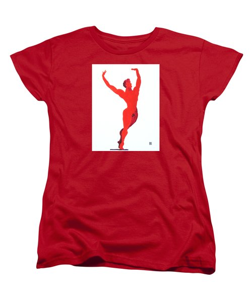 Triumphant Balance Women's T-Shirt (Standard Cut) by Shungaboy X