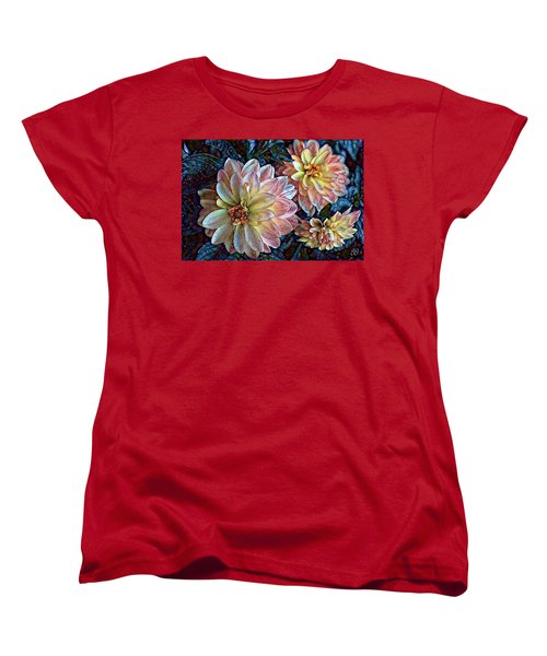 Trois Women's T-Shirt (Standard Cut) by Geri Glavis