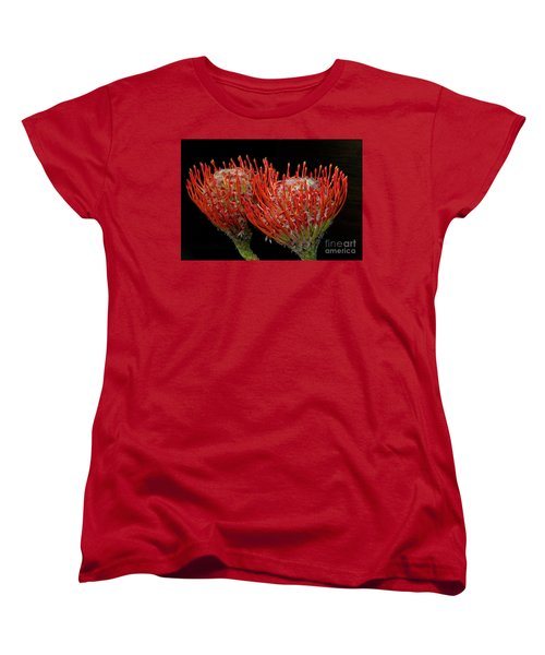 Tropical Flower Women's T-Shirt (Standard Cut) by Elvira Ladocki