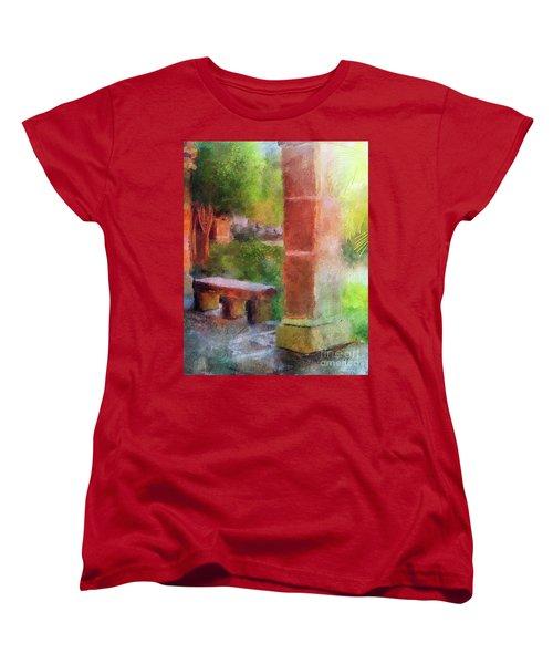 Tropical Memories Women's T-Shirt (Standard Cut) by Lois Bryan