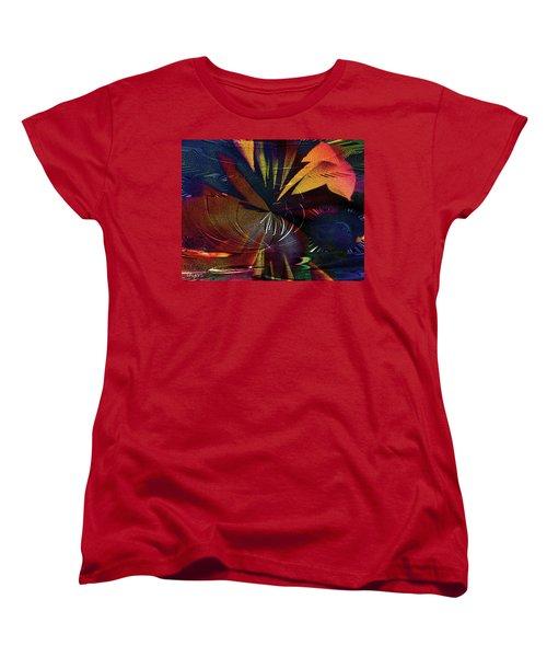 Tropicale Women's T-Shirt (Standard Cut) by Paula Ayers