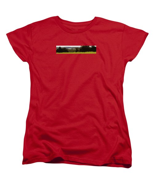 Tucked Away Women's T-Shirt (Standard Cut) by Spyder Webb