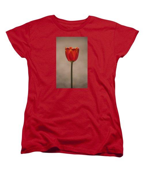 Tulip En Fuego Women's T-Shirt (Standard Cut) by Morris  McClung